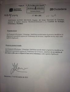 20151118 - Propuesta Ordenanza de Terrazas